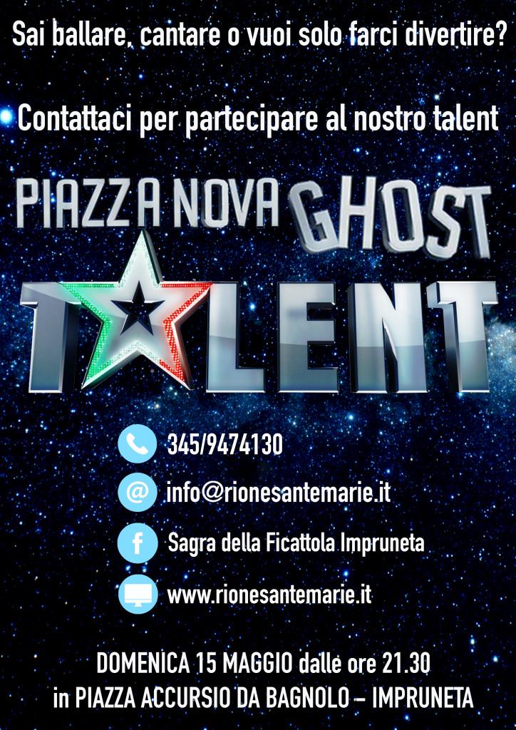 Piazza Nova Ghost Talent 2016 | 3° Edizione